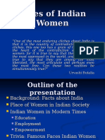 Faces of Indian Women.ppt