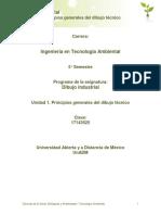 Unidad1 Los Principiosgeneralesdeldibujotecnico