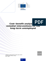 Cost–Benefit Analysis of Remedial Interventions for the Long-term Unemployed