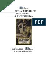 Pequeña Historia de Inglaterra - Chesterton