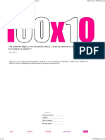 INVE_MEM_2011_110917 Aprendizaje Por Contagio. Case of Study Campus Cde Tecnificación Proyectual 100x10