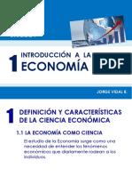 Introducción Economía- Jorge Vidal R