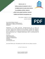 OFICIOS DECIU Entrega Est. 3 y Correcciones