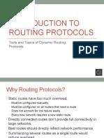 15 Routing Protocol Basics