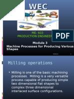 Produvtion Engineering Module 3