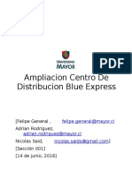 Ampliacion Centro de Distribucion Blue Express