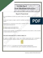 Guía de Repartos Proporcionales