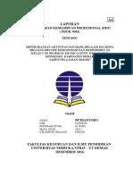 Laporan PKP UT Terbaru Siap Jilid