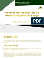 Técnicas de Inspección de Autotransporte de Carga