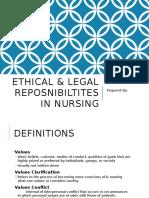 Ethical & Legal Reposnibiltites in Nursing-1 (1)