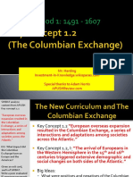 Web APUSH Review the Columbian Exchange Key Concept 1.2