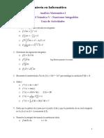 Unidad v - Integrales de Funciones Reales de Variable Real - Guia de Actividades (1)
