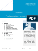 Food Safety Auditing