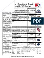 8.23.16 Minor League Report