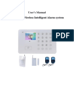 BAILINGA-E99+GSM+alarm+system+user+manual