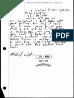 Michael Wilson letter