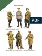 Uniformes Sovieticos Segunda Guerra Mundail