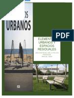 Espacios Residuales y Elementos Urbanos