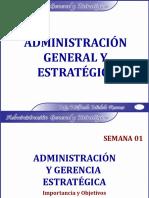 Administración General y Estratégica