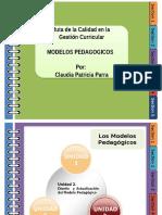 Febrero 11 Modelos Pedagógicos