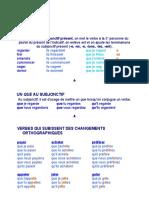 Subjonctif Document