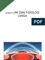 Anatomi Dan Fisiologi Lensa