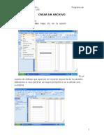 Manual Project 2007-Archivo Matriz