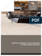 AP-T310-16 Selection Design of Initial Treatments for Sprayed Seal Surfacings