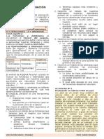 Proceso de Evaluación Foda