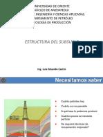 Clase de Estructura Del Subsuelo