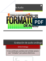 Formatos Audio 2016