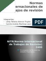 Presentación NITR 2400