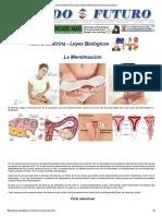 Nueva Medicina Germanica Mujer Menstruacion Menarca Ovulacion