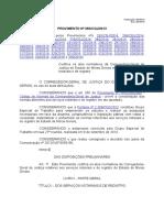 Provimento Da Corregedoria 0260-2013