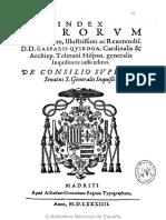 Indice de 1584