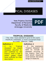 Tropical Diseases Inter'Onal Classn S1 2013