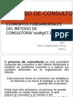 Proceso de Consultoria Iniciacion
