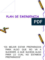 1- Planes Emergencias