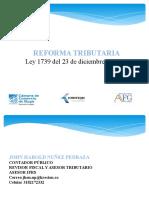 Diapositivas Ley 1739 de 2014reforma Tributaria