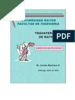Transferencia de Materia (Ejercicios) - Carlos Martínez Pavez