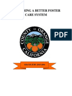 Orange County Grand Jury Fostering a Better Foster Care System 2016
