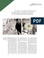 Batis 2002 El Peyote y Otros Cactos Alucinogenos