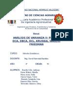 Analisis de Varianza II