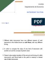 II. Interest Rates
