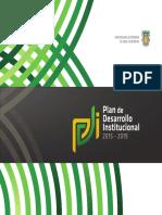 Prograda de Desarrollo Institucional 2015-2019 UABC