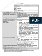 Syllabus-Corporate Finance and Capital Markets (1)