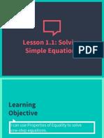 pre-algebra- lesson 1 1