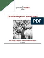 Stamboom van Roelof Kastein (Stamboom Barink Luimes Spekking Seinhorst)
