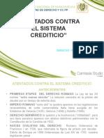 Atentados Contra El Sistema Crediticio
