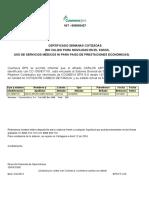 Certificado Eps 2015 Carlos Acero